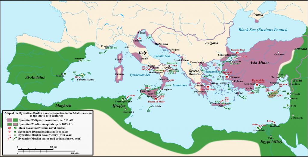 Хан Тервел запазва християнската цивилизация чрез победата си над арабите