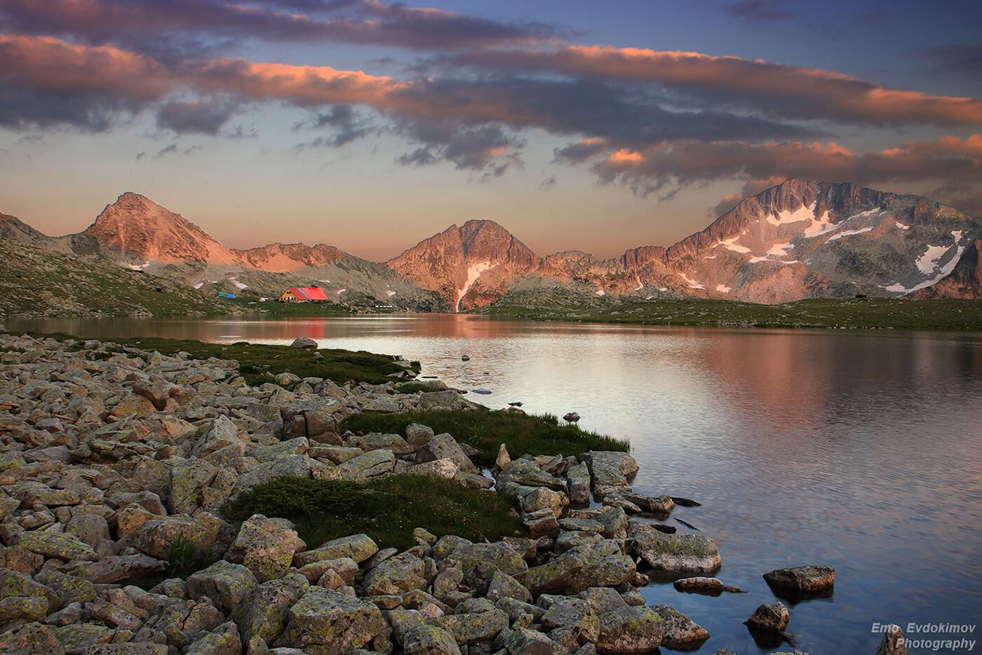 Тевно езеро, Пирин