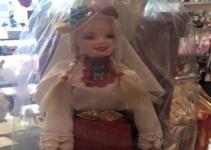 кукла барби с народна носия