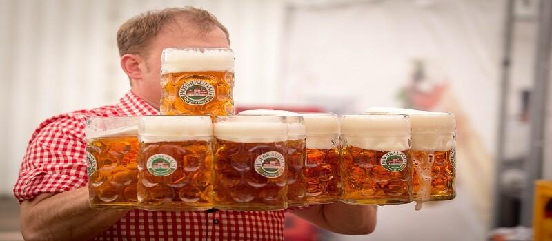 мезета за бира