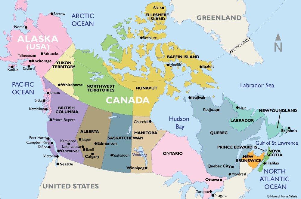 Канада, визи