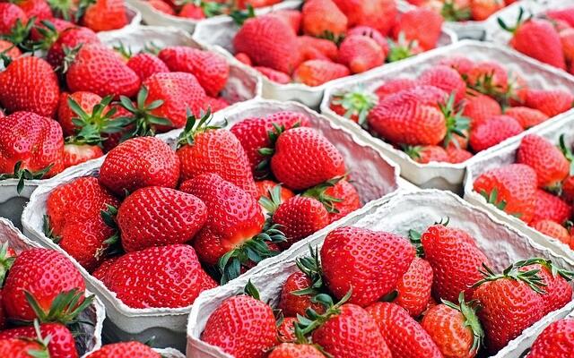 Испания, ягоди