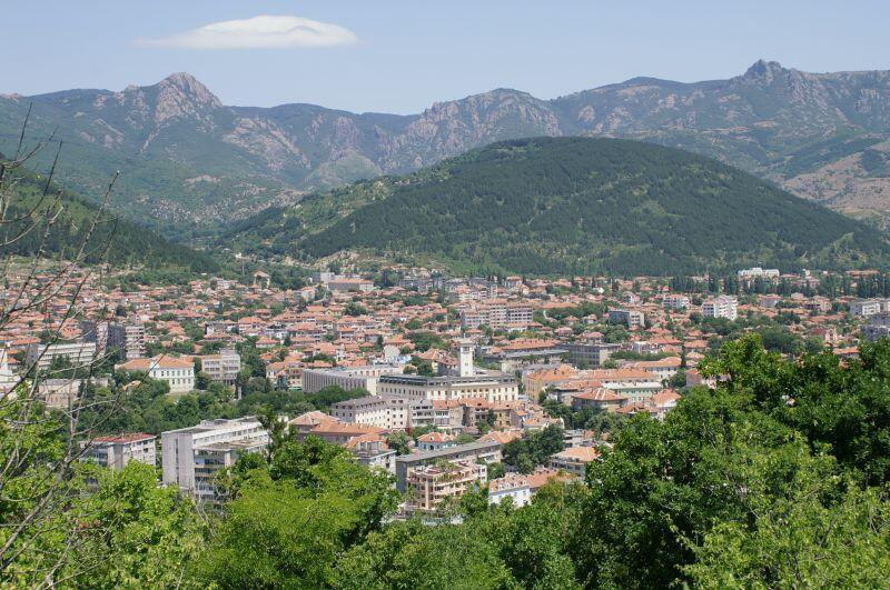 град, Сливен