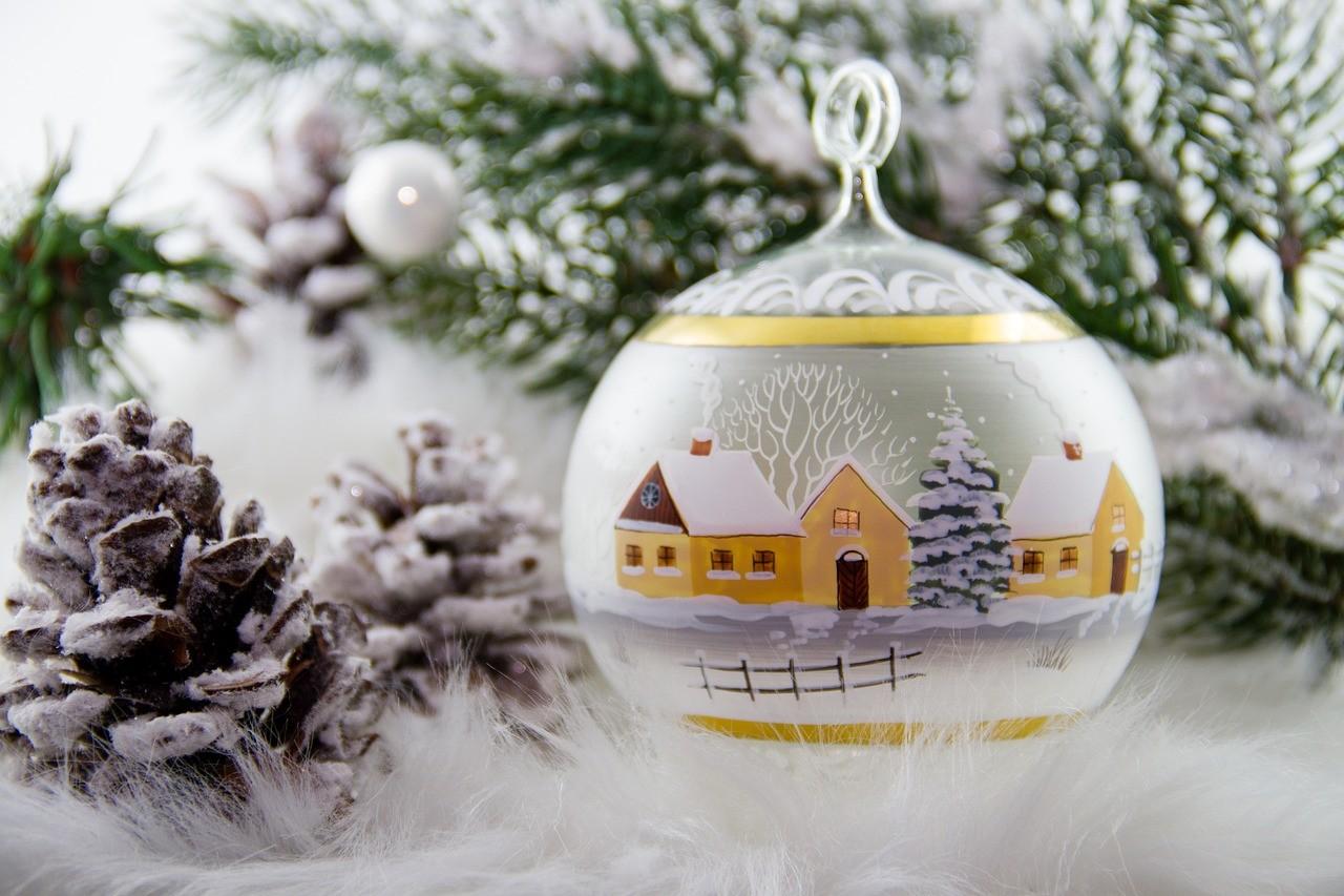 най-красиво украсената за Коледа, Дебелец