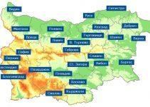 10-те най-населени града в България