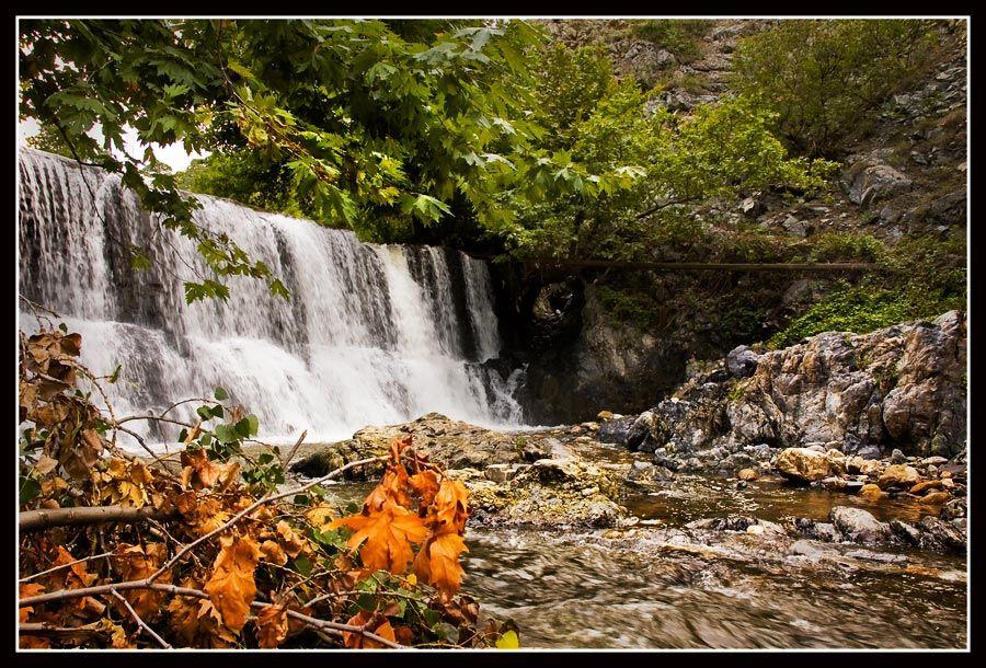 Водопадът край село Първенец