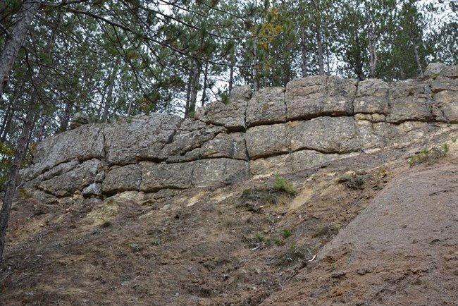 крепостна стена